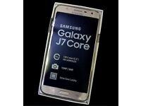 Samsung galaxy j7 core 2018 brand new with box