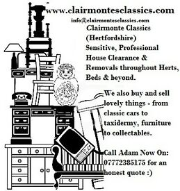 Sensitive House Clearance Herts, Beds, N.London