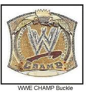 WWE Belt Buckle