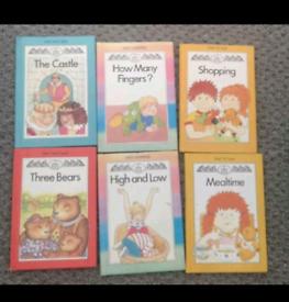 6 x children Zebra Books series - early reading learning