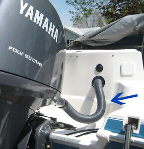 """Outboard Motor Rigging Tube / Pipe / Conduit / Hose 2"""" Hors Bord West Island Greater Montréal image 2"""