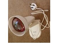 INFRARED HEAT-LAMP - PHILIPS INFRAPHIL HP3612 - £15