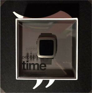 Pebble Time - Black. New, in box