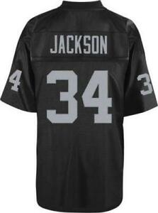 on sale f8585 703a8 bo jackson throwback raiders jersey