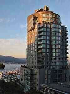 Downtown Coal Harbour Stanly Park Luxurious Waterfront Bulding