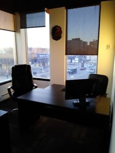 $550 Monthly - Private Offices with Boardroom!