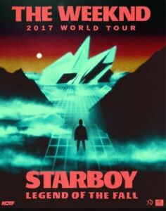 The Weeknd Starboy 2017 world tour