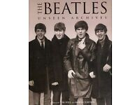 The Beatles Unseen Archives / A great big thick heavy book of 384 pages.