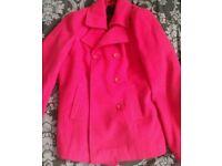Ladies hot pink jacket