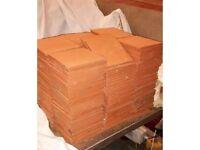 Tiles Quarry Pilkingtons DORSET RED Flat and Cream/Buff NEW