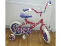 Little sweetie bicycle brand new suit around 3 to 4 years old £25.