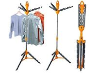 HangAway™ Lightweight Portable Foldaway Indoor Drier And Clothes Hanger Stand