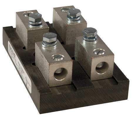 Mersen/Ferraz Shawmut 31002T Fuse Block,Industrial,100A,2 Pole