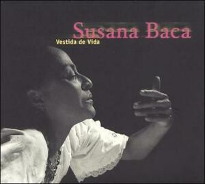 CD-SUSANA-BACA-034-Vestida-de-Vida-034-1991-French-Import-Beautiful-Peruvian-Vocalist