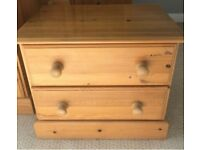 Solid dovetailed pine chest of drawers