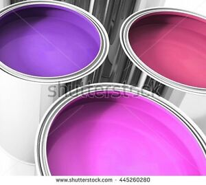 Wanted Pink or Purple Paint