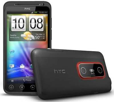 HTC EVO 3D Android Sprint Smartphone 5MP Camera, Wi-Fi, Hotspot, GPS (Black) B