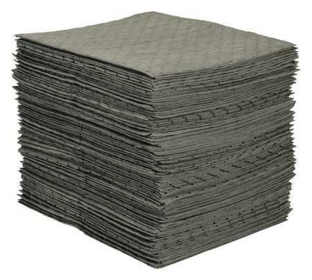 Brady Spc Absorbents Mro100-2 Absorbent Pad, Absorbs 13.5 Gal. Chemical,