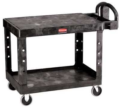 Rubbermaid Fg452500bla Structural Foam Raised Handle Utility Cart 500 Lb.