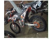 Ktm 125 sx 2009 motorcross Not cr Yz rm