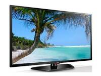 "Lg 47"" led tv with built in free view"