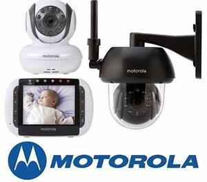 NEW MOTOROLA CAMERA MONITOR KIT Remote Wireless Indoor and Outdoor Video Baby Monitor with 3.5-Inch Colour 92080714