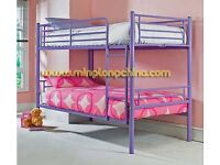 Second hand Purple bunk bed