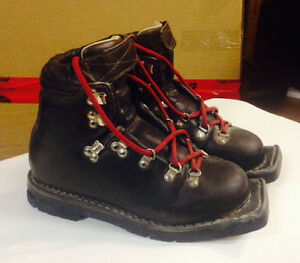 Leather Telemark boots