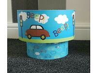 Boys car theme light shade