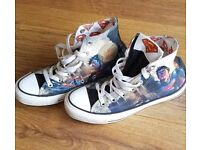 Unisex limited Edition Converse Superman Trainers
