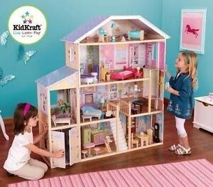 NEW KIDKRAFT MAJESTIC MANSION DOLLHOUSE KIDS - TOYS - DOLLS 103922544