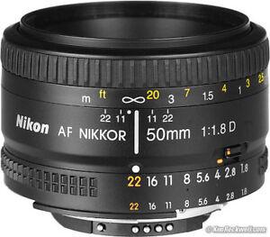 Nikon AF Nikkor 50mm 1.8 lens