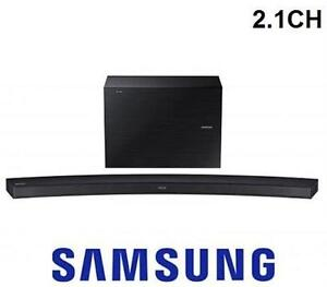SAMSUNG 2.1 CHANNEL 300 WATT CURVED WIRELESS AUDIO SOUND BAR