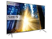 Boxed Samsung 65 inch SUHD 4K HDR 1000 Quantum Dot Smart TV with Freeview HD/Freesat HD