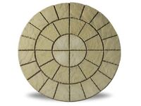 Cathedral Circle York 1.8m Patio Paving Feature Kit £119.99 Garden Slabs / Flags 0161 962 9127