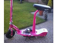 Razer scooter perfect condition seldom used not long new cost £159 will except £75.
