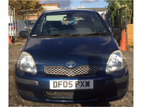 2005 TOYOTA YARIS T3 1.4 D4D MANUAL CHEAP TAX DIESEL LONG MOT