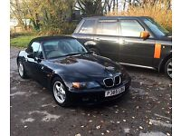 BMW 2 Litre Z3 BLACK WITH 10 MONTHS TAX