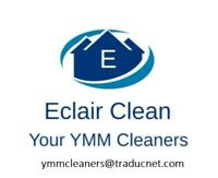 Eclair Clean cleaning services