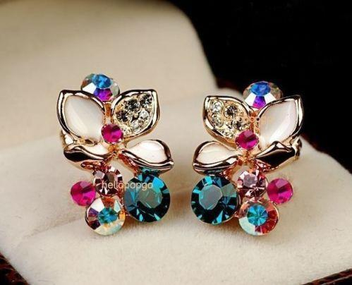 Swarovski Earrings Crystal Collectibles Ebay