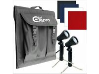 "Ex Pro LT30 Photo Light Cube 21"" x 21"" & plus White Tent Ex-Pro Mini Lighting Set - Item used once"