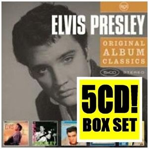 ELVIS-PRESLEY-Original-5CD-NEW-Elvis-E-P-Loving-You-Elvis-Is-Back-GI-Blues