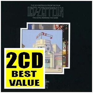 LED ZEPPELIN The Song Remains The Same EXPANDED 2CD NEW Live Remastered
