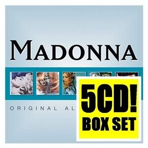 MADONNA 5CD NEW True Blue/Like A Prayer/Ray Light/Music/Confessions Dance Floor