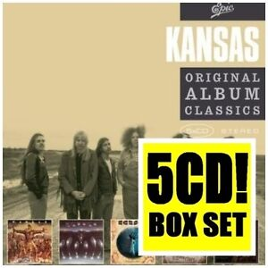 KANSAS 5CD NEW Kansas/Song For America/Point Of Know Return/Leftoverture/Masque