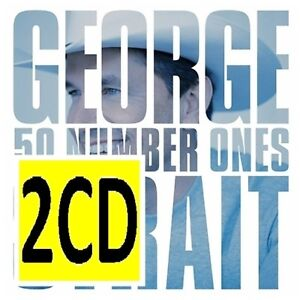 GEORGE-STRAIT-50-1s-2CD-BRAND-NEW-Number-Ones-Best-Of-Incl-I-Hate-Everything