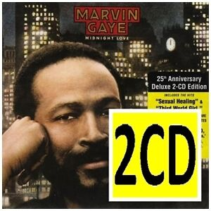 MARVIN GAYE Midnight Love 2CD NEW Legacy Edition Sexual Healing