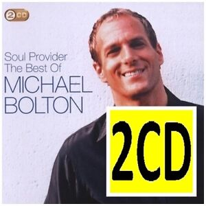 MICHAEL-BOLTON-Soul-Provider-The-Best-Of-2CD-BRAND-NEW-Greatest-Hits-Essential