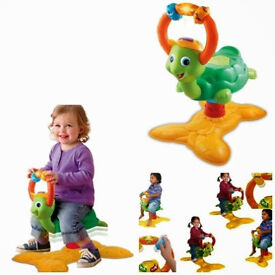 vTech Bounce time Turtle Animal fun baby bounce time with lights and sounds