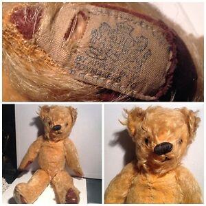 """Vintage Mohair TEDDY BEAR 12"""""""